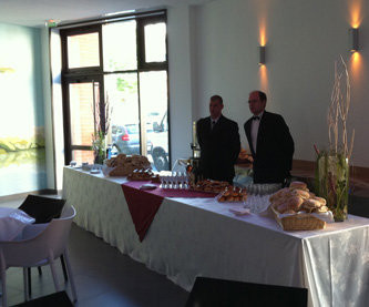 Photo du salon de réception des ETS Emmanuel PETREL